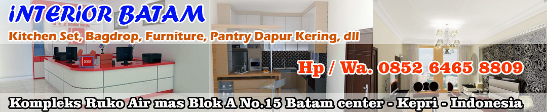 Interior Batam - Kitchen Set